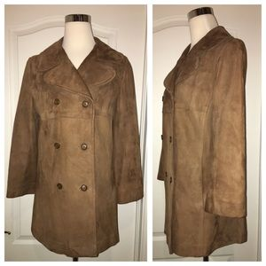Gorgeous Genuine Suede Coat!